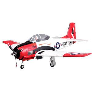 FMS T-28 Trojan 1400mm Red PNP