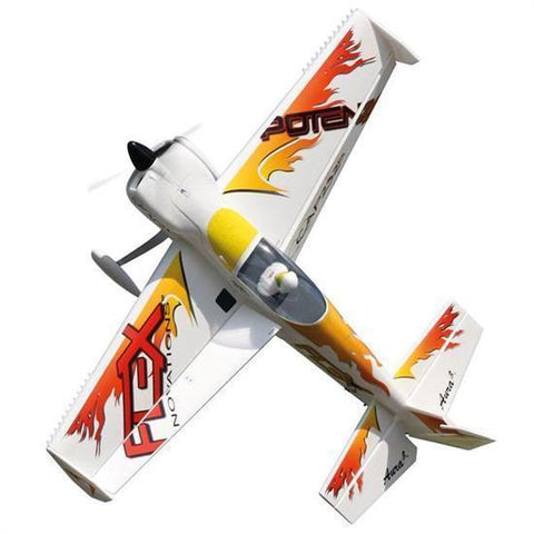 Image of Flex Innovation QQ Cap 232 EX Super RC Plane, PNP, Yellow