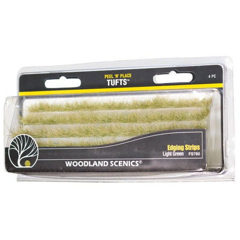 Image of WOODLAND SCENICS Light Green Edging Strips
