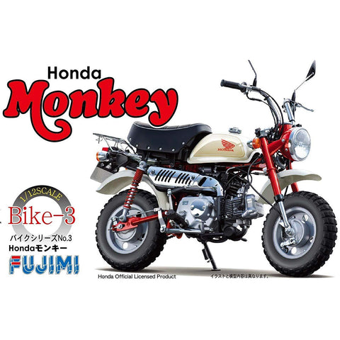 FUJIMI 1/12 No.3 Honda Monkey (2009) Plastic Model Kit