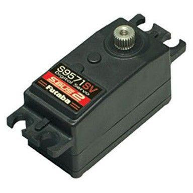 FUTABA  S9571SV S.Bus2 Low-Profile Metal Gear Servo For 1/10 RC Car (S9571SV) - Hearns Hobbies Melbourne - FUTABA