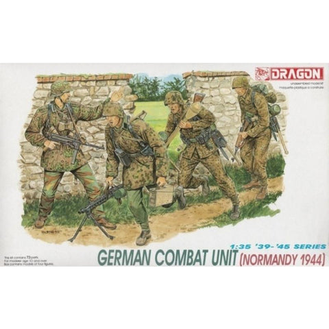 DRAGON 6003 1/35 German Combat Unit (Normandy 1944)