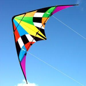 WINDSPEED Firestorm Sports Dual Control Stunt Kite
