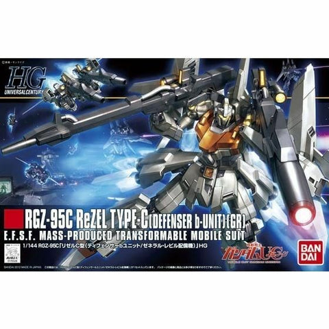 BANDAI 1/144 HGUC ReZel Type-C Defenser B-Unit (G0176508)
