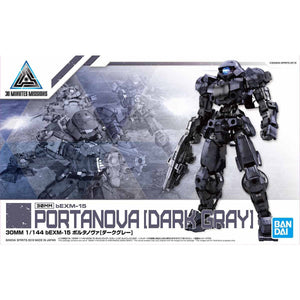 BANDAI 30MM 1/144 bEXM-15 Portanova [Dark Gray]