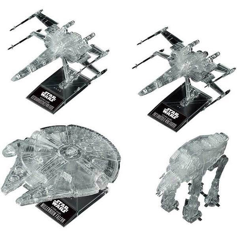 BANDAI 1/144 & 1/350 & 1/540 ?STAR WARS: THE LAST JEDI? CLE