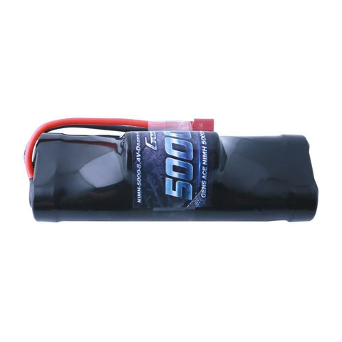 Image of Gens Ace 5000mAh 8.4V NiMH Hump Battery (Deans Plug)
