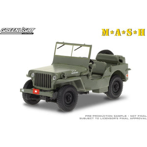 GREENLIGHT 1/43 M*A*S*H 1942 Willys MB Jeep