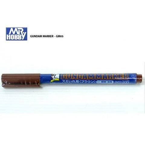 Image of GSI Gundam Markers Ultra Fine - Brown - GM03