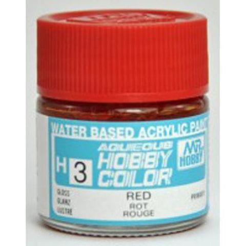 Image of MR HOBBY Aqueous Gloss Red - H003 - Alternative to X-7