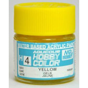 MR HOBBY Aqueous Gloss Yellow - H004 - Alternative to X-8