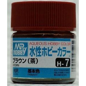 MR HOBBY Aqueous Gloss Brown - H007