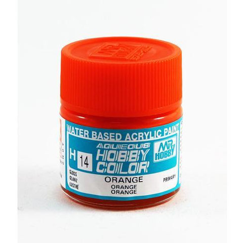 Image of MR HOBBY Aqueous Gloss Orange - H014 - Alternative to X-6