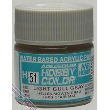 MR HOBBY Aqueous Gloss Light Gull Grey - H051