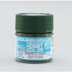 Image of MR HOBBY Aqueous Semi-Gloss Green FS 34092 - H302
