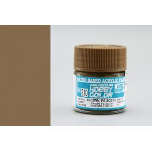 Image of MR HOBBY Aqueous Semi-Gloss Brown FS 30219 - H310