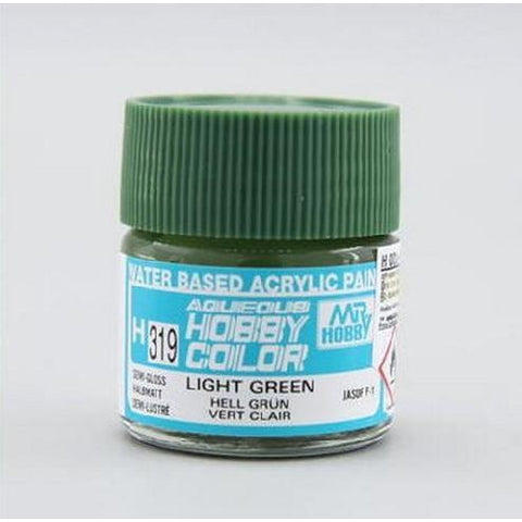 Image of MR HOBBY Aqueous Semi-Gloss Light Green - H319