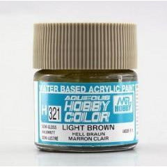 MR HOBBY Aqueous Semi-Gloss Light Brown - H321