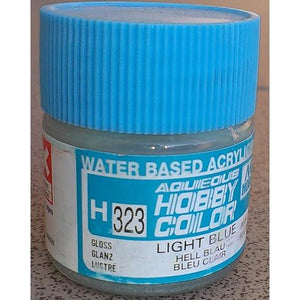 MR HOBBY Aqueous Gloss Light Blue - H323