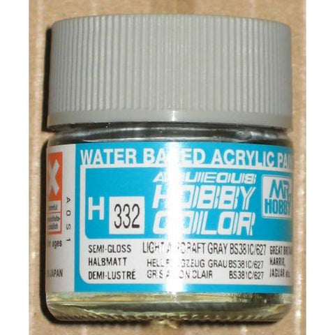 Image of MR HOBBY Aqueous Semi-Gloss Light Air Grey - H332