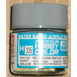 MR HOBBY Aqueous Semi-Gloss Medium Sea Grey - H335