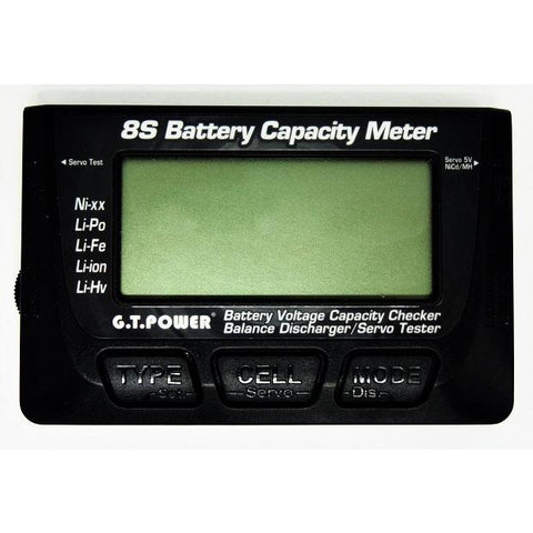 Image of GT POWER Battery Meter/Balancer/Servo Tester.