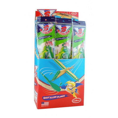GUILLOWS SUPER HERO MODEL PLANE ASSORTMENT* (GUILL48)