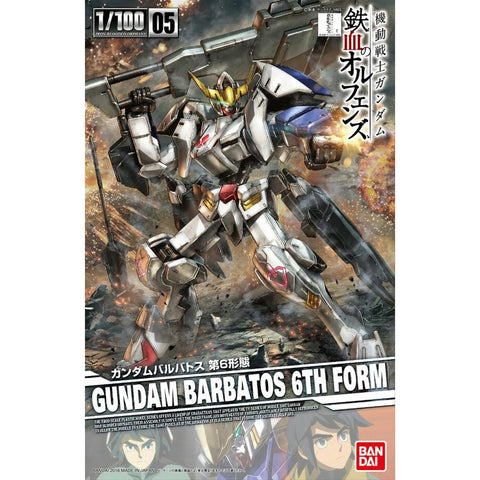 BANDAI 1/100 GUNDAM BARBATOS 6TH FORM