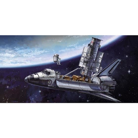 HASEGAWA 1/200 Hubble Space Telescope & Space Shuttle Orbit