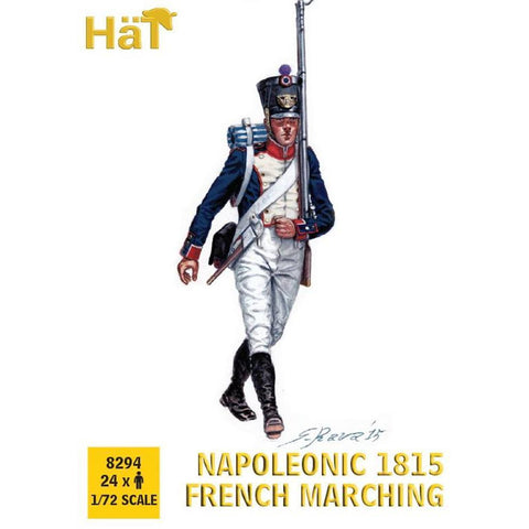 HAT Napoleonic 1815 French Line Infantry Marching (HAT8294)