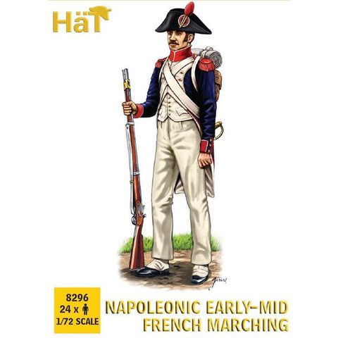 HAT Napoleonic Early-Mid French Marching (HAT8296)