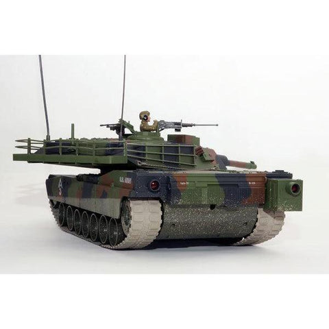 HOBBY ENGINES ECONOMY VERSION M1A1 ABRAMS TANK CAMOUFLAGE W