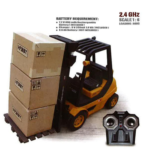 PREMIUM EDITION 1/6 SCALE FORKLIFT TRUCK W/ 2.4g PROPORTION