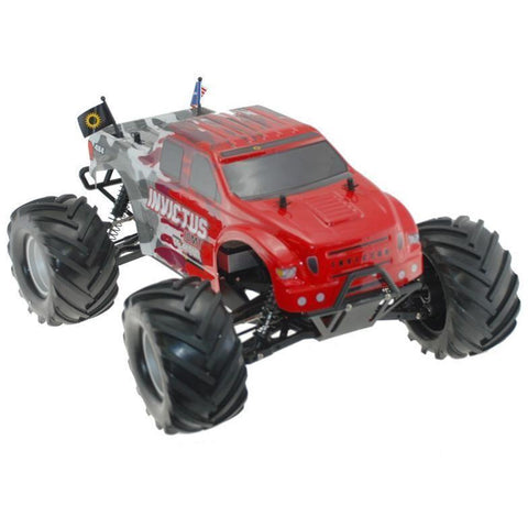 INVICTUS 10MT 4X4 ELECTRIC MONSTER TRUCK - Hearns Hobbies Melbourne - HELION - 1