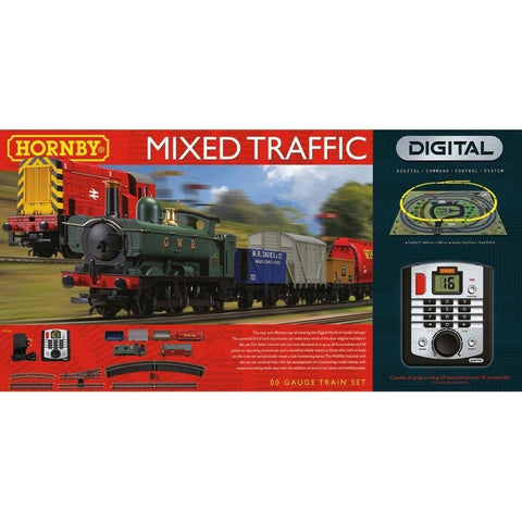 Image of HORNBY OO Digital - Mixed Traffic Train Set