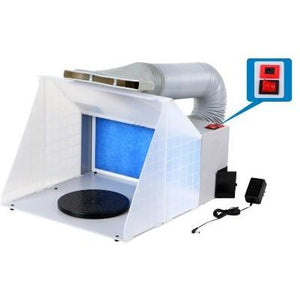 HS SPRAY BOOTH W/LED LIGHT