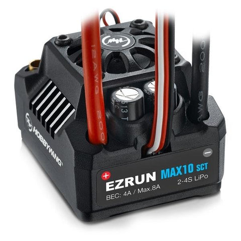 Image of HOBBYWING Ezrun Max10 SCT ESC 120amps