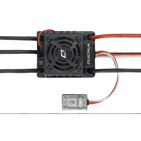 Image of HOBBYWING QuicRun 60A BL ESC 2-6S WP