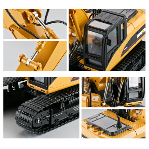 HUINA 1/14 RC Construction Excavator