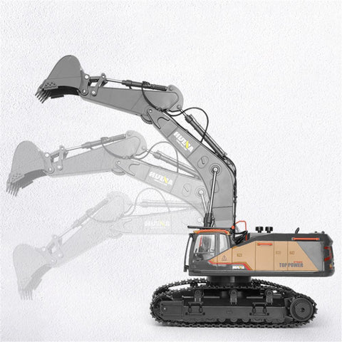 Image of HUINA 1/14 RC 2.4GHz Construction Excavator