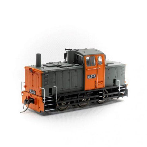 IDR HO W 244 Rebuilt Body Orange/Grey DCC Sound