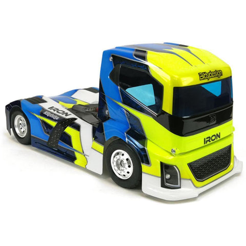 BITTYDESIGN IRON 1/10th Truck body  (BDTRK-190IRO)