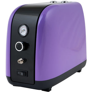 IWATA 2Spray Airbrush Compressor 1/6HP Purple
