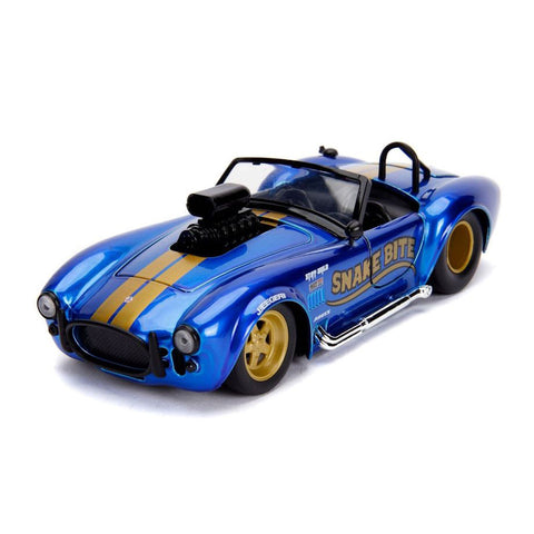 1:24 BTM Candy Blue 1965 Shelby Cobra 427 S/C (JA30706)