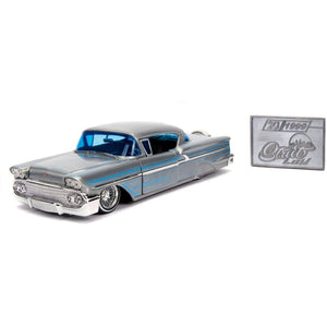 1:24 Street Low 1958 Chevy Impala Hardtop 20th Anniversary