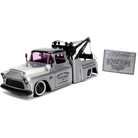 1:24 Kustom Kings 1955 Chevy Stepside Tow Truck 20th Annive
