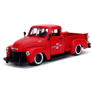 1:24 Primer Red 1953 Chevy Pickup Just Trucks