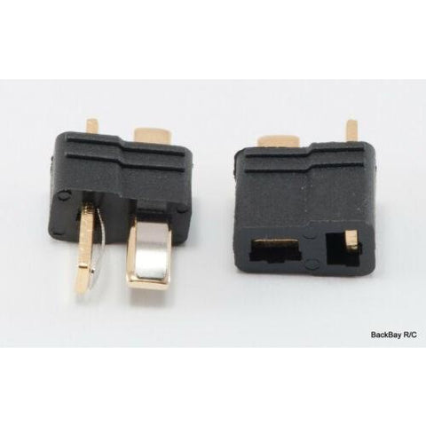JPRC DEANS CONNECTOR (BLACK) (PAIR) (JP-116) (JP-116)