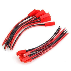 JPRC JST pair with 100mm leads