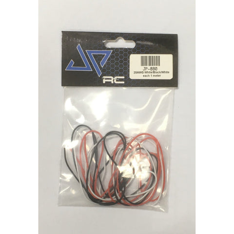 JPRC 28AWG Red, White, Black each color 1m in One Bag